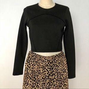 Fun LEOPARD High Low Maxi Skirt